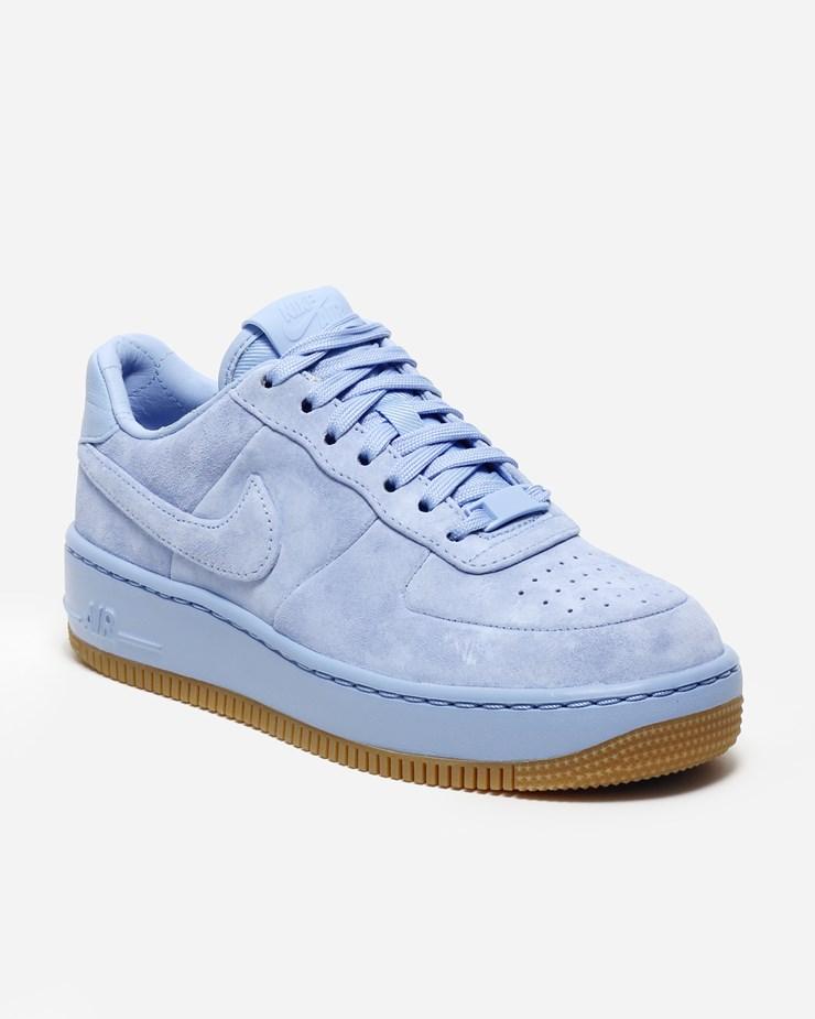 Nike Damen Air Force 1 Upstep LX (Blau) AluminumAluminum Obsidian 898421 400