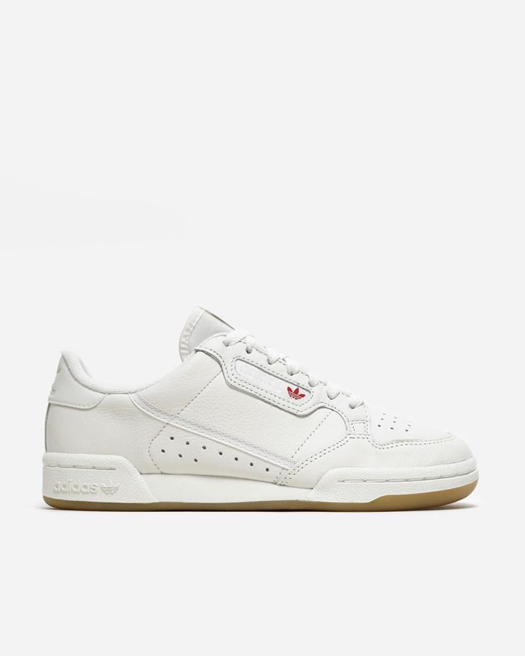 detailed look 6ae8e 895b8 Adidas Originals Continental 80 Off WhiteRaw White