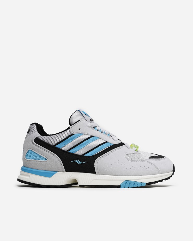 e7f3b57f58947 Adidas Originals ZX 4000 Grey One Core Black Br Cyan
