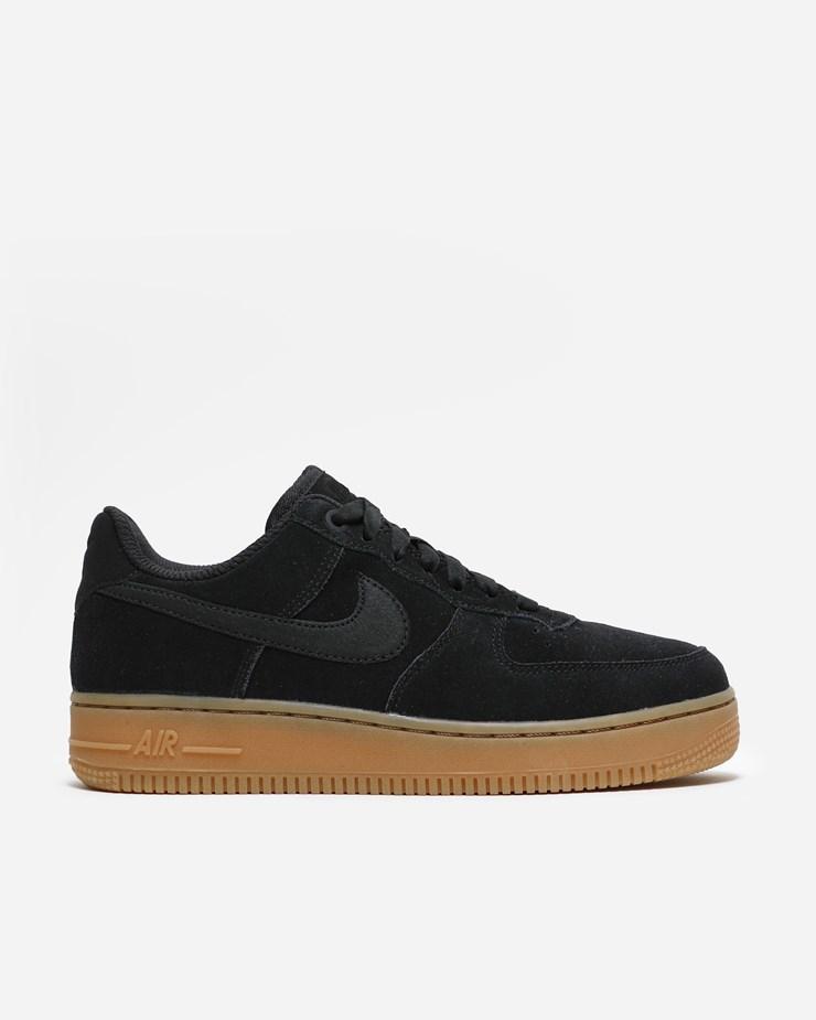 size 40 047cc acd91 Nike Sportswear Air Force 1 '07 SE AA0287 002 | Black/Gum ...