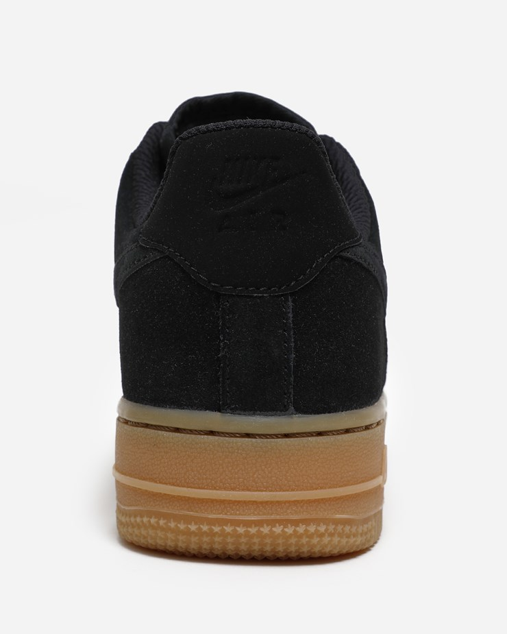 huge discount 90a4d 2b5ba Nike Sportswear Air Force 1 '07 SE AA0287 002 | Black/Gum | Footwear ...