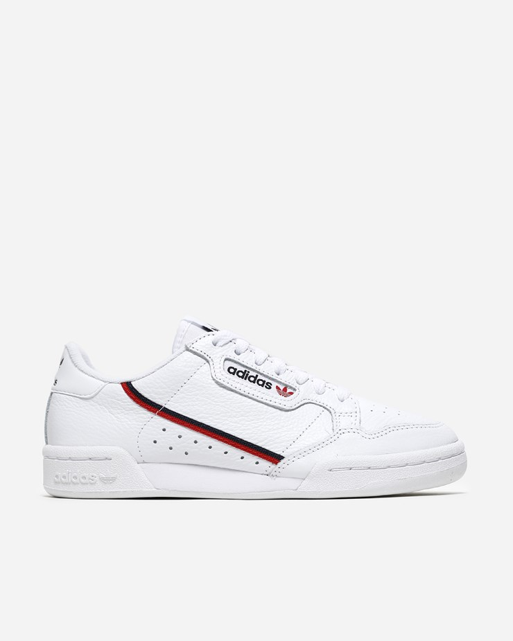 timeless design 361f9 fdc32 Adidas Originals Continental 80 White Scarlet