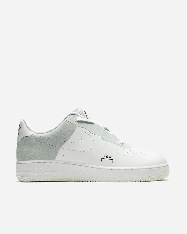 ACW x Nike Air Force 1 07 White Light Grey Shoes Best Price BQ6924 100