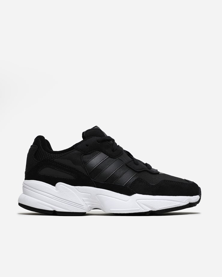 the latest d2d25 5d578 Adidas Originals Yung-96 Core Black Crystal White