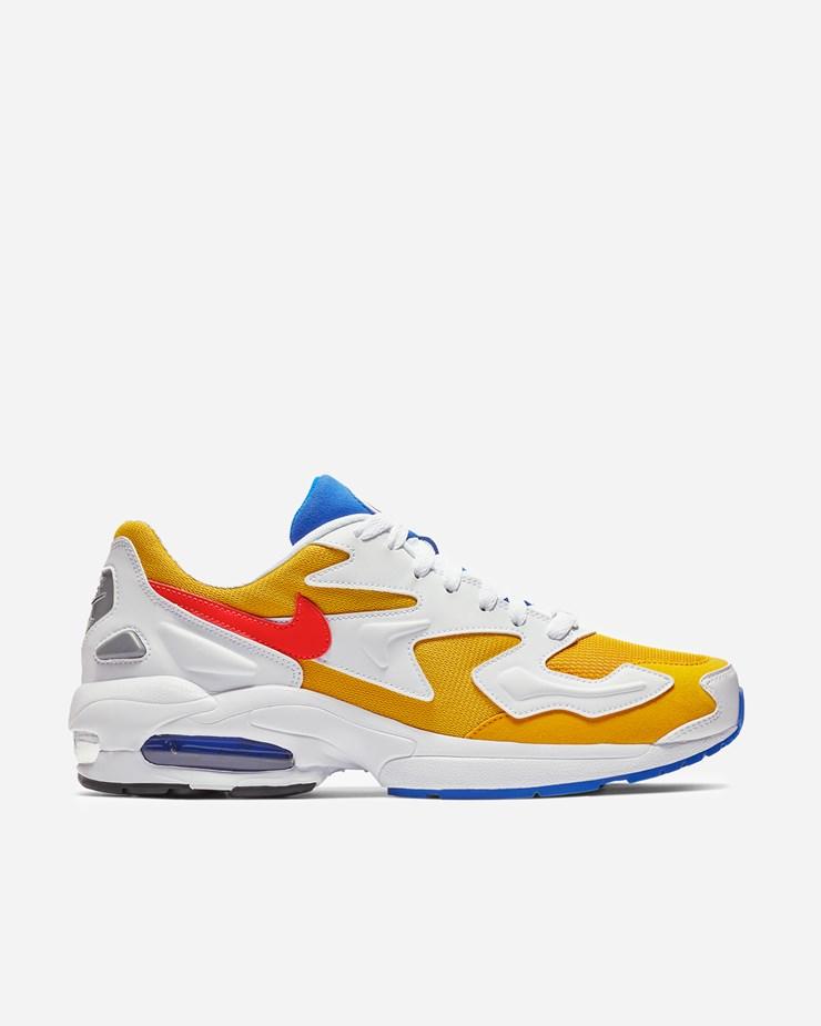 594796e6efd Nike Sportswear Air Max2 Light University Gold Racer Blue