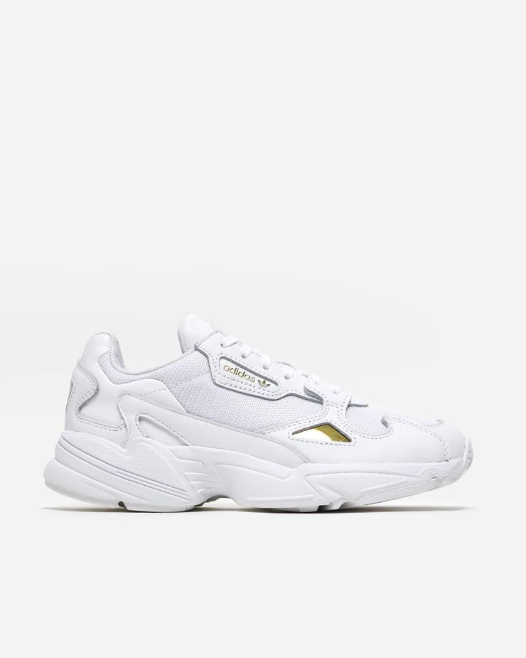 on sale 9871c 208f3 Adidas Originals Falcon WhiteWhiteGold
