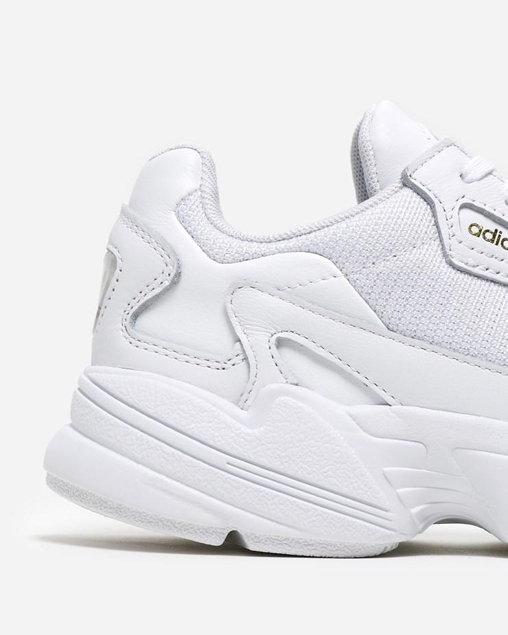 buy popular 8a09c 940da Adidas Originals Falcon EE8838   White White Gold   Footwear - Naked