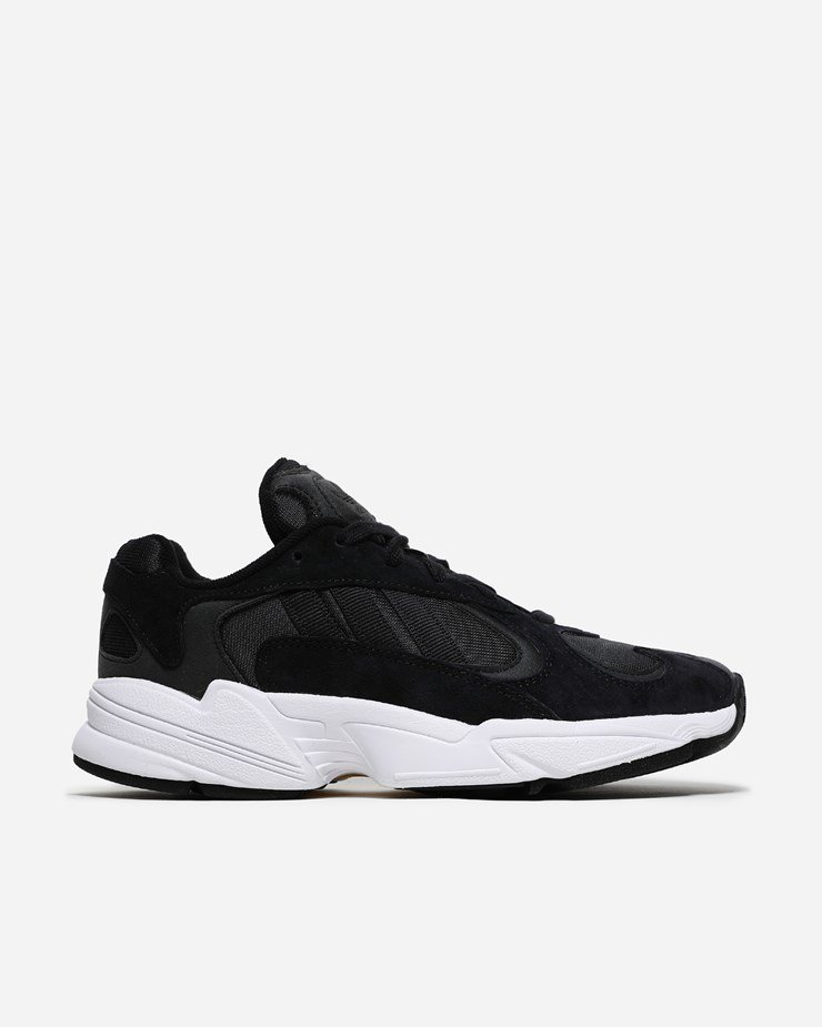 huge selection of 53806 572e6 Adidas Originals Yung-1 Core Black White