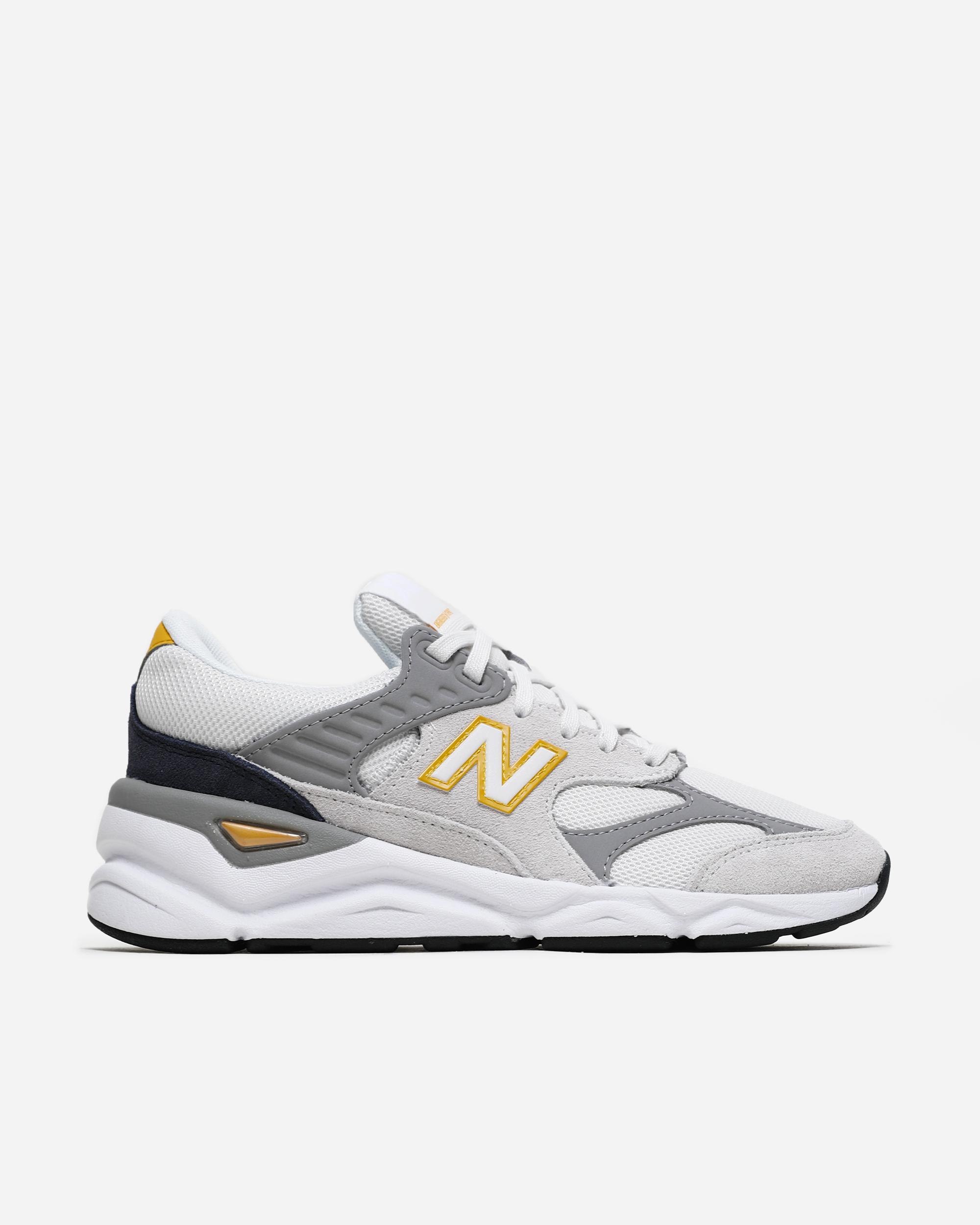 new balance grey yellow