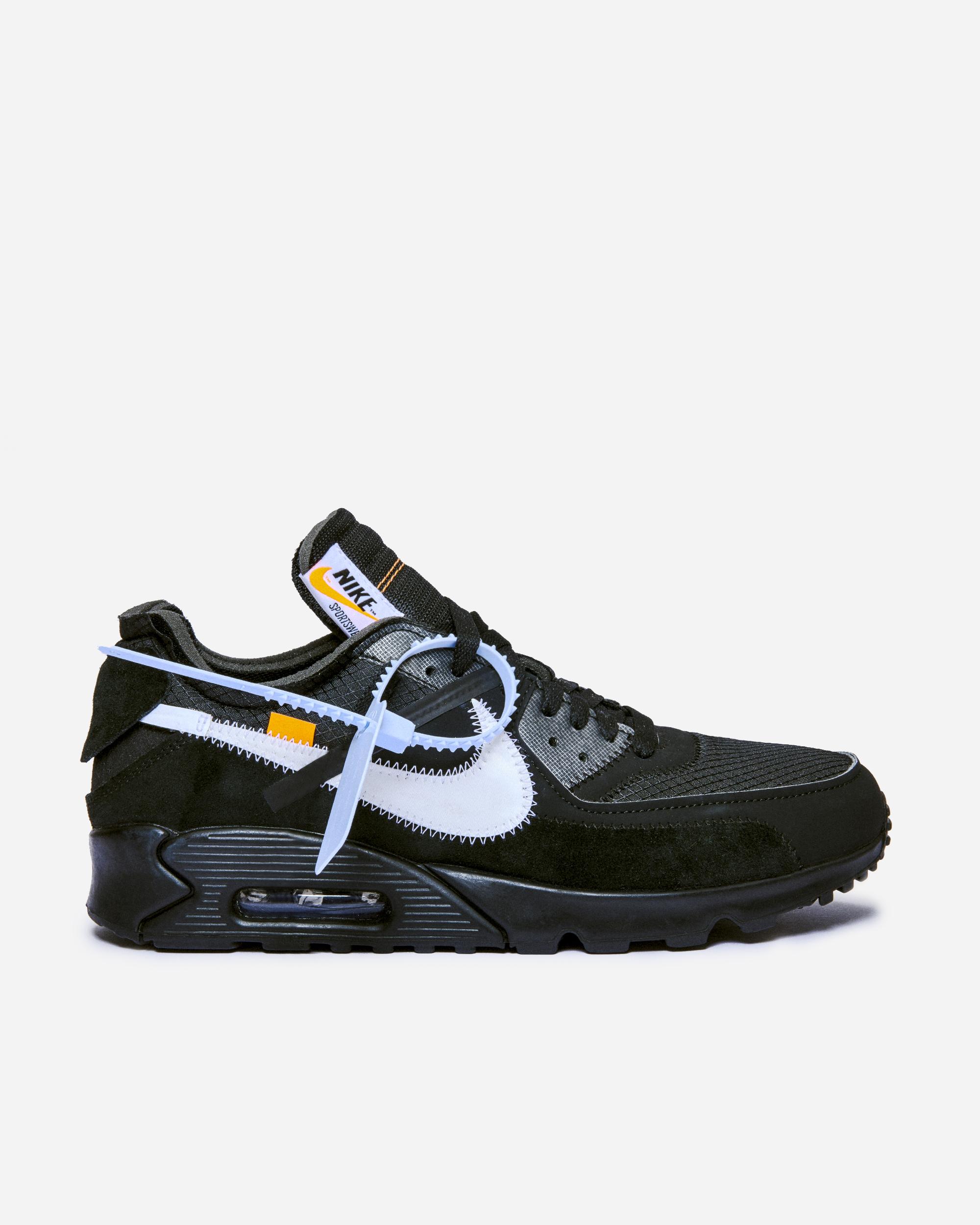 Nike Sportswear NikeLab x Off White Air Max 90 BlackBlack