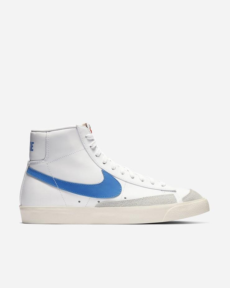 super popular 67545 6c54d Nike Sportswear Blazer Mid  77 Vintage Pacific Blue Sail