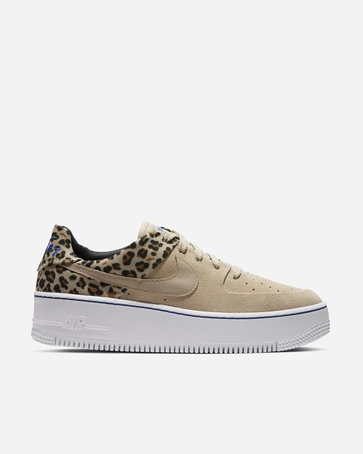 huge discount 3e01a 5ae7a Nike Sportswear Air Force 1 Sage Low PRM Desert Ore Racer Blue