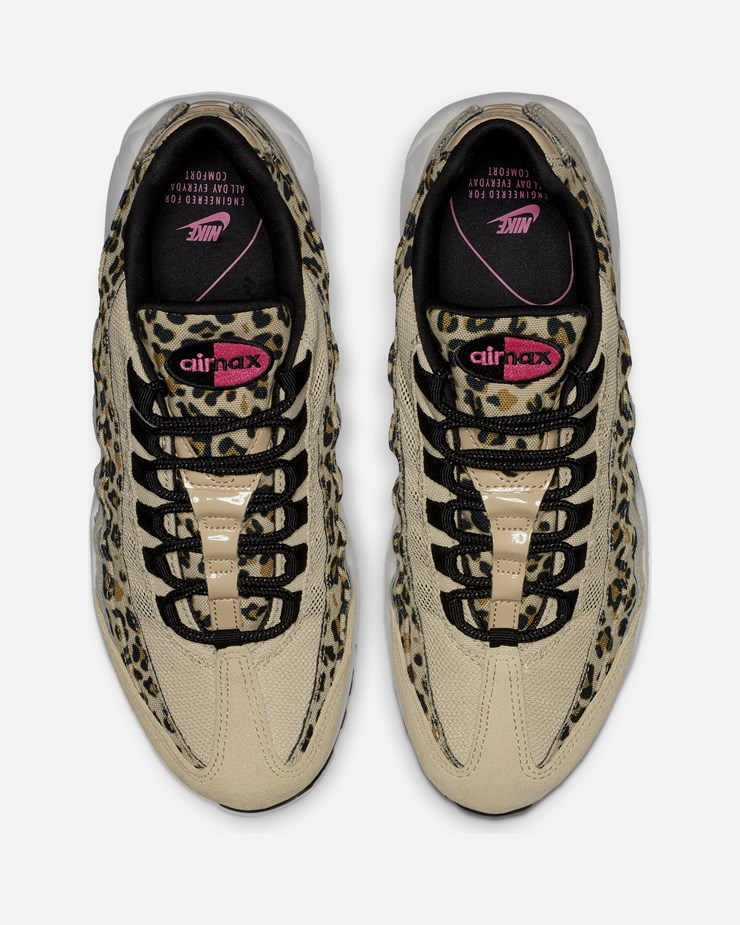 purchase cheap 657a0 4fa50 Nike Sportswear Air Max 95 PRM CD0180 200   Desert Ore Laser Fuchsia ...