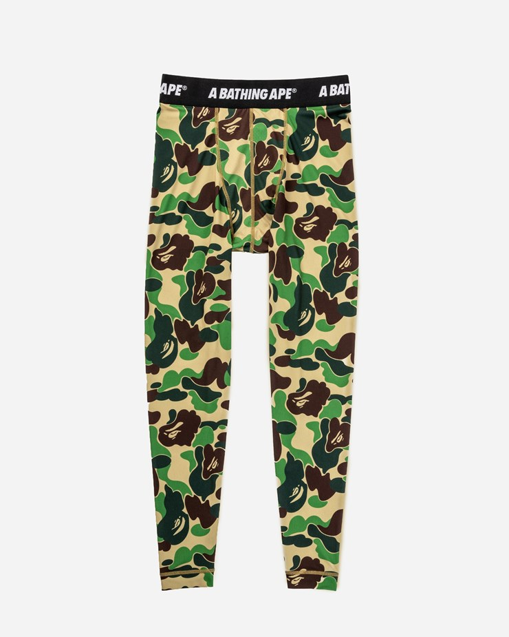 61f82b047b3b Adidas Originals adidas Consortium x BAPE  Superbowl  Tights Green Camo