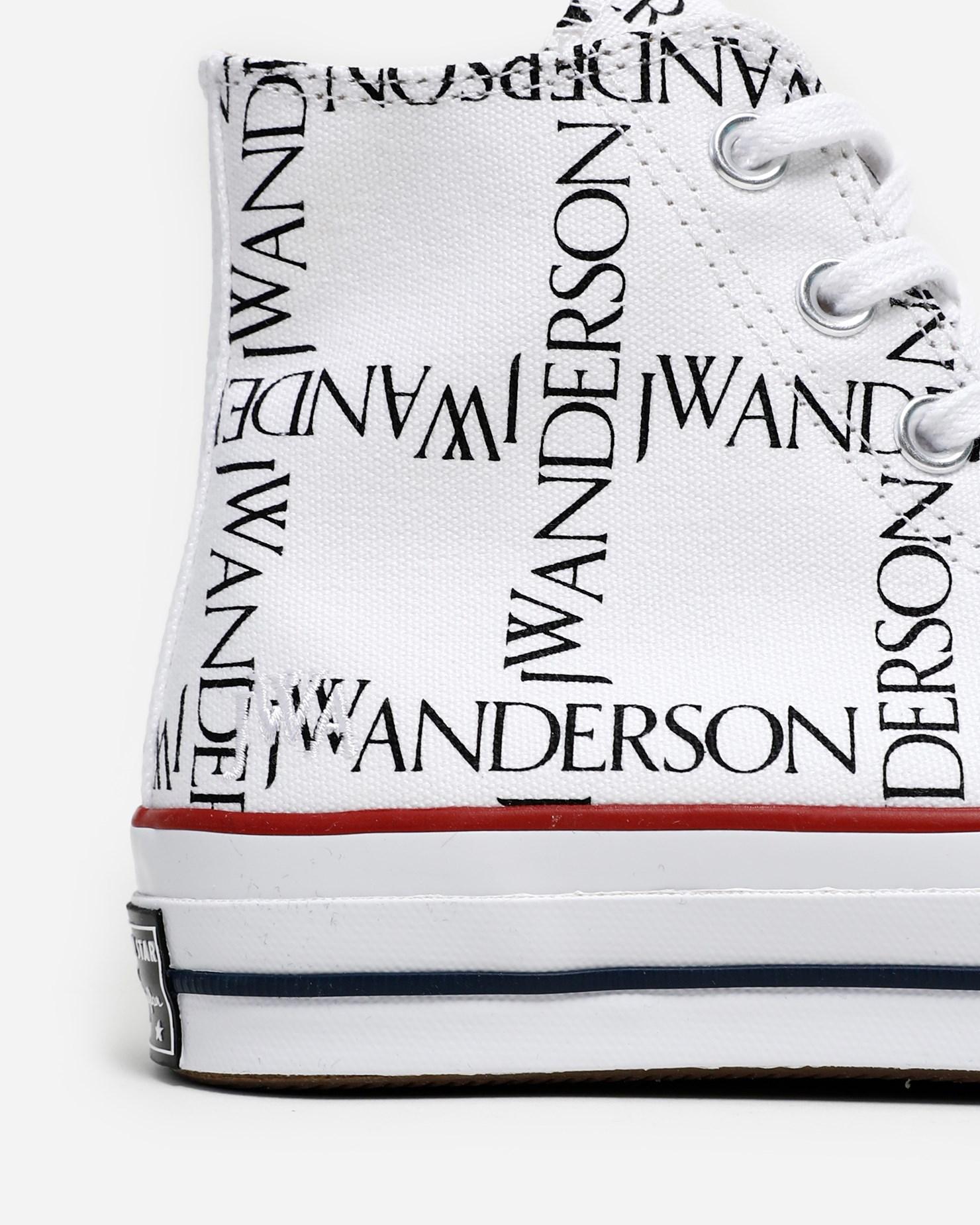 Converse X JW Anderson Chuck 70 HI - Nasturtium/Egret