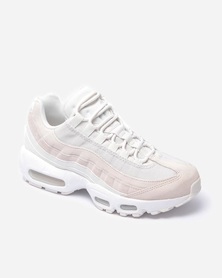 Nike Air Max 95 Premium Sneakers Platinum TintSummit WhiteWhite