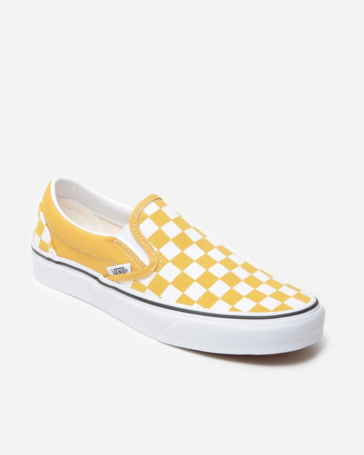 977e4c5c Vans Classic Slip-On VN0A38F7VLY1 | Yolk Yellow | Footwear - Naked