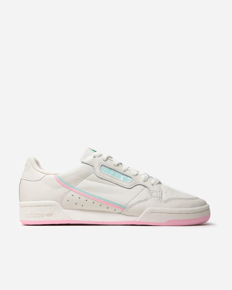 e9fb523faed Adidas Originals Continental 80 Off White True Pink