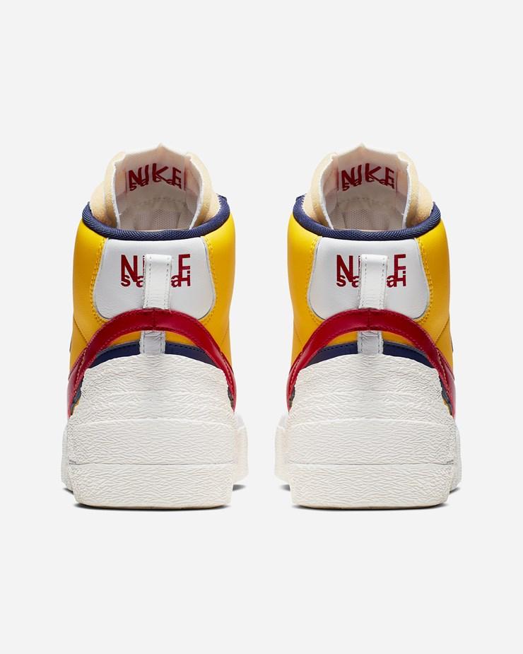 Nike X Blazer Mid Hi top Sneakers Herren Varsity Maize