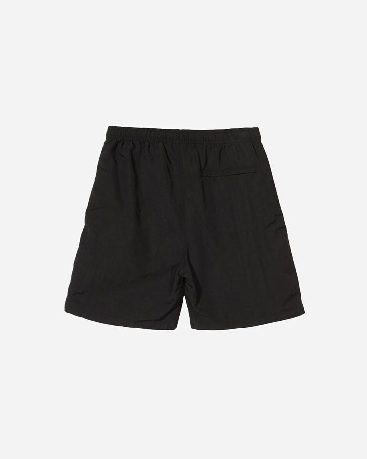 a04659f366 Stussy Stock Water Short 113108 0001 | Black Shorts| Clothing - Naked