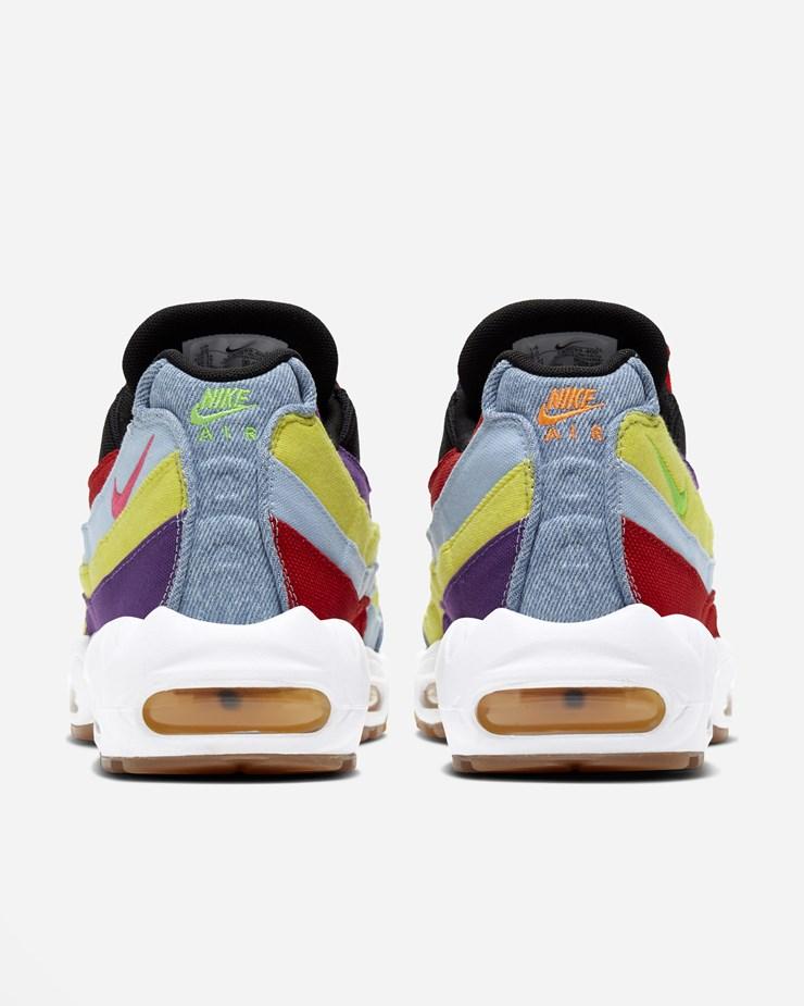 Nike Sportswear Air Max 95 SP QS Psychic Blue/Chrome/Yellow ...