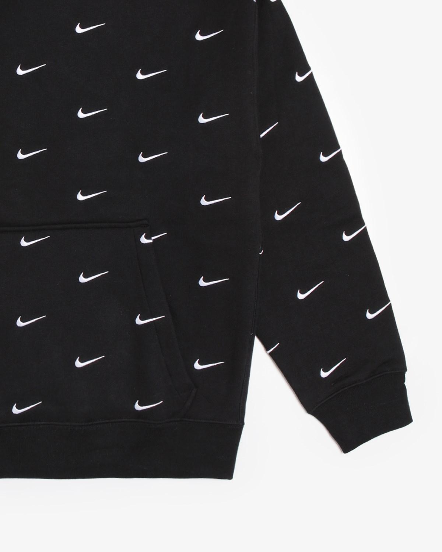 nike nrg swoosh logo hoodie