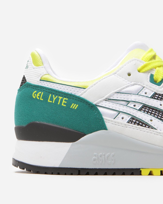 ASICS GEL-LYTE III OG WHITE/YELLOW - Slash Store