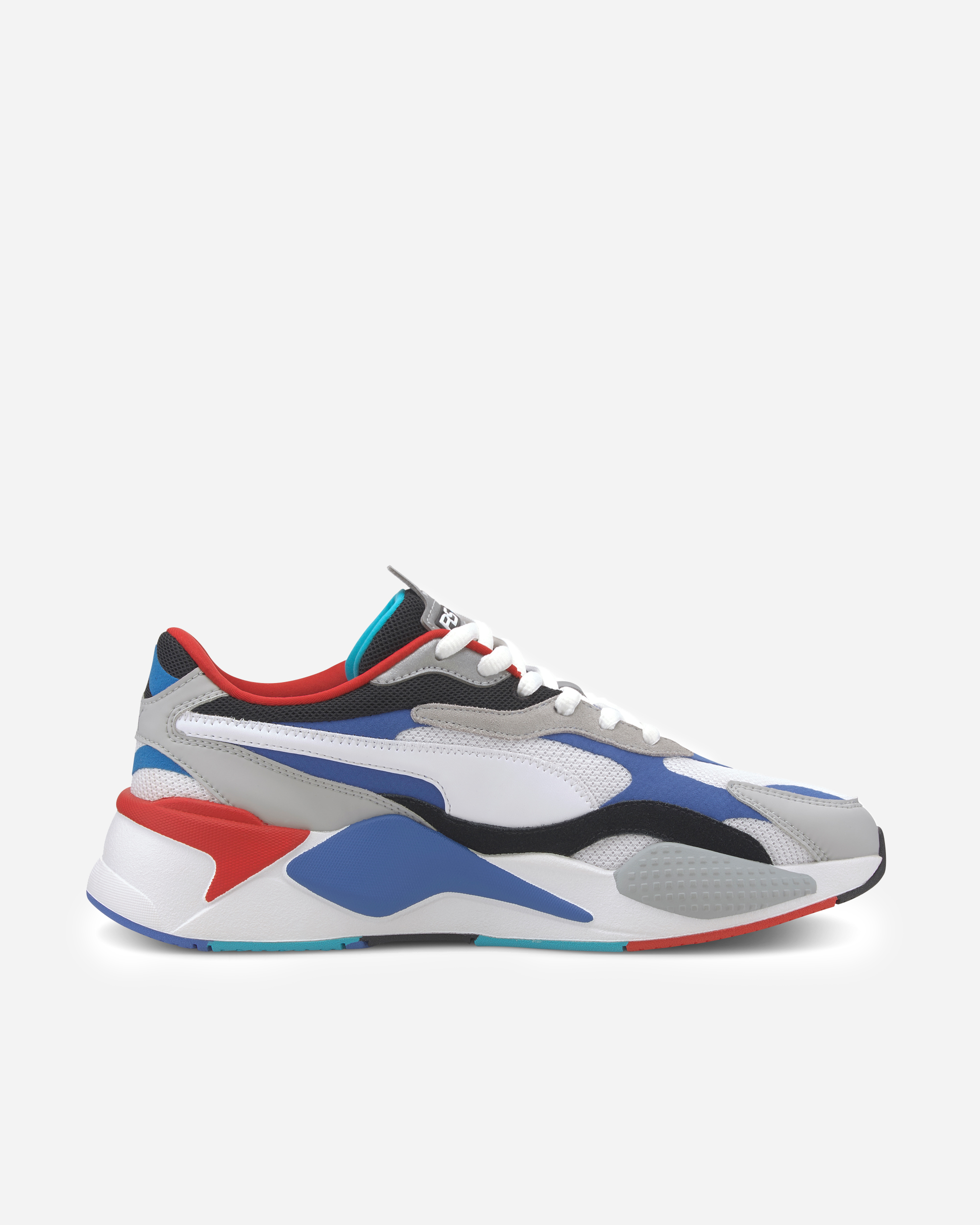 Puma RS-X3 Puzzle White/Blue | 371570 005 – Naked