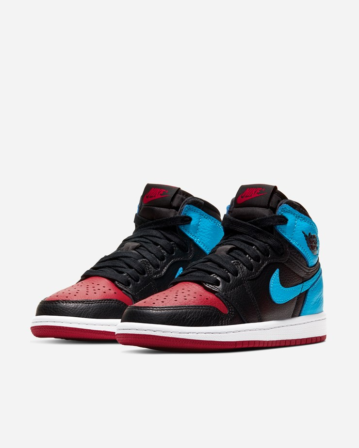 Jordan Brand Air Jordan 1 High OG (PS) Black/Powder Blue