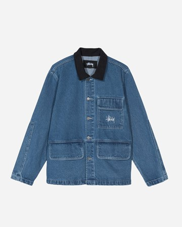 Denim Chore Coat 30859