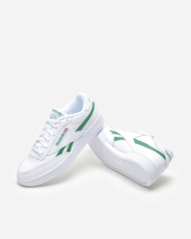 Reebok Club C Revenge MU White/Green   EG9271