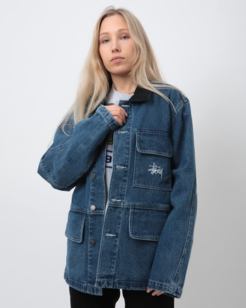 Denim Chore Coat 31087
