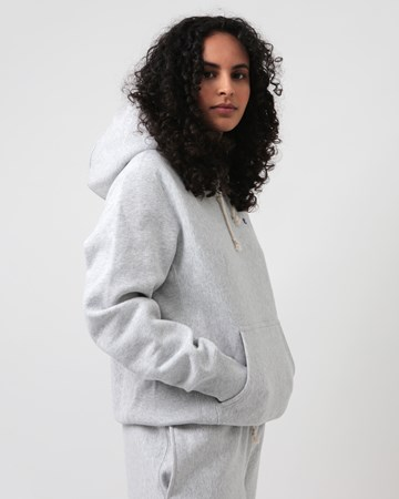 Reverse Weave Hooded Sweatshirt 31881