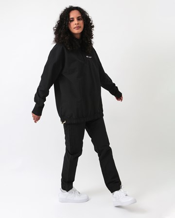 Half zip Nylon Track Jacket 31890