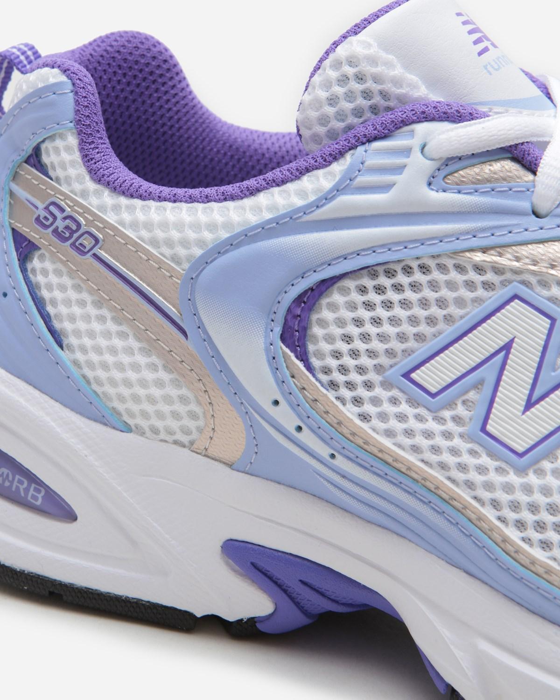 New Balance R530ESF Munsell White/Mystic Purple   MR530ESF