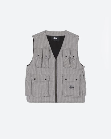 Houndstooth Work Vest 32887