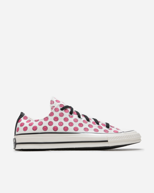 Converse Chuck 70 Ox Egret/Cerise Pink/Black   167645C