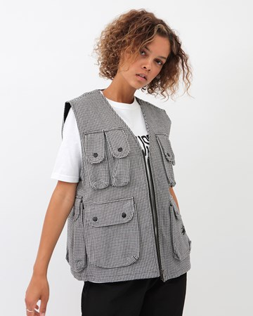 Houndstooth Work Vest 33111