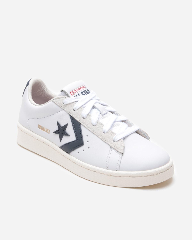Converse Pro Leather Og Mid Shoes (white/obsidian/egret)