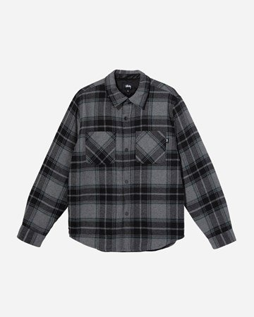 Max Plaid Quilted Shirt 35134