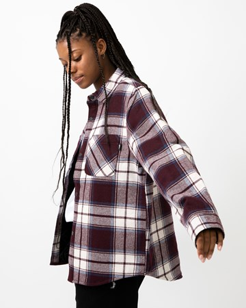 Max Plaid Quilted Shirt 35293