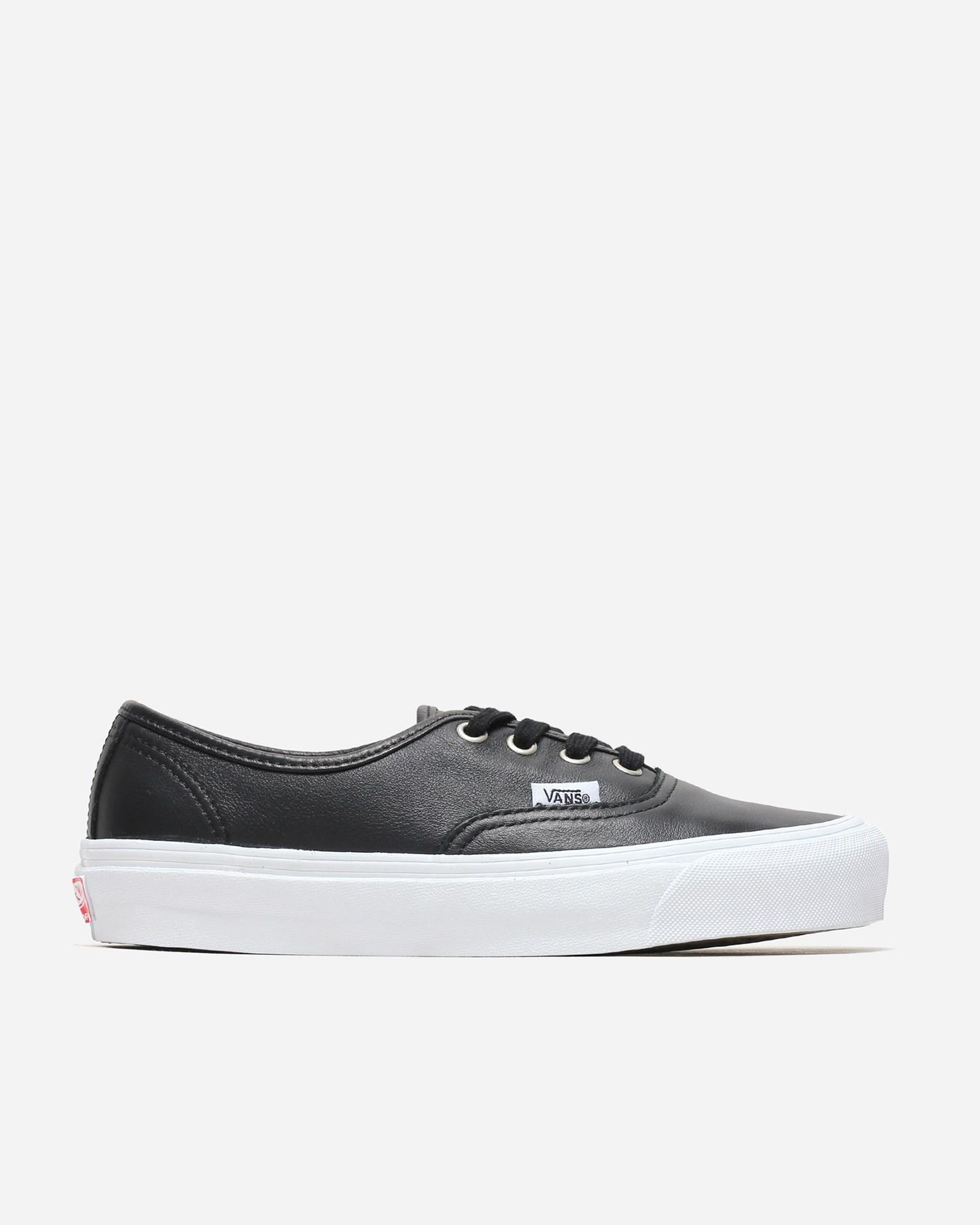 Vans OG Authentic LX - Black/True White en 2020 | Sneakers