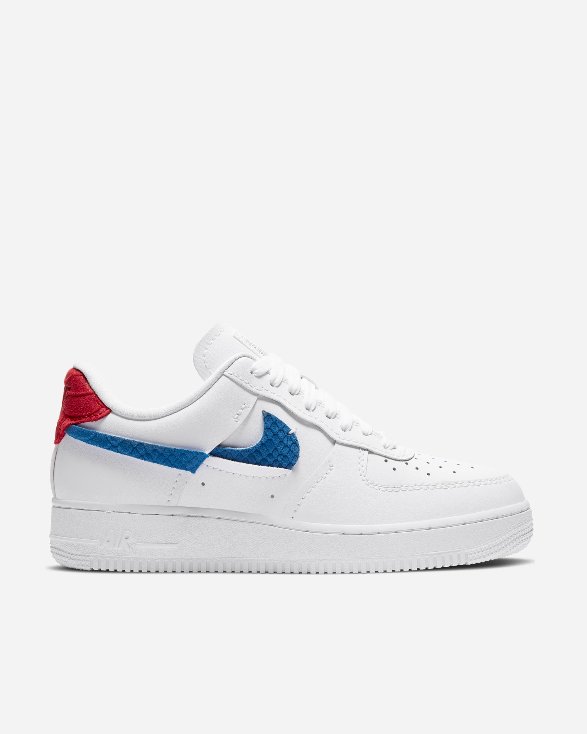 Nike Sportswear Air Force 1 LXX White/Royal/University Red ...