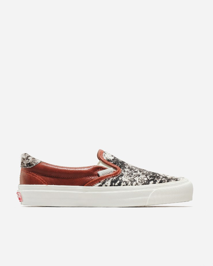 937c81806d92 Vans U OG SLIP ON 59 LX (PRM Leather) V19VIIZ