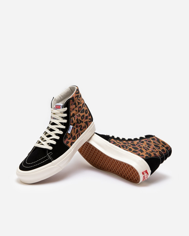 Vans Vault UA OG Style 38 Ns LX Leopard Black/Marshmallow