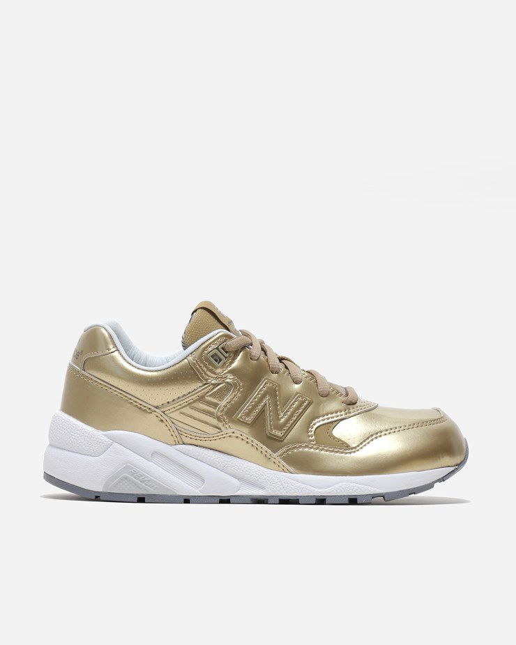 half off 9ebec a3f71 New Balance 580MG WRT580MG | Gold | Footwear - Naked