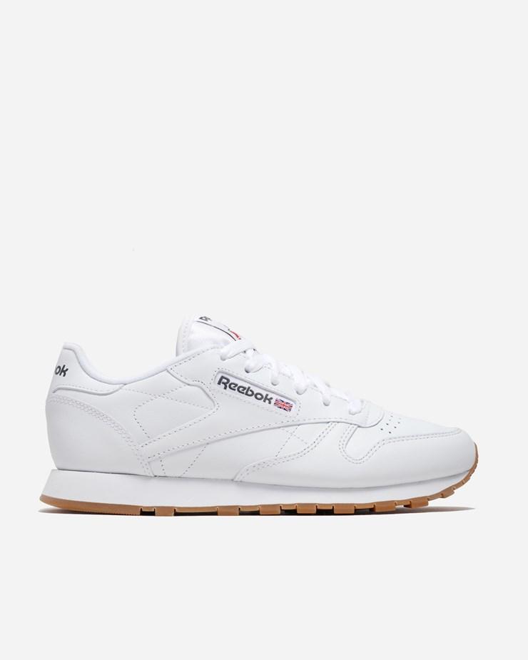 ad5221e7bfc93 Reebok Classic Leather White Gum