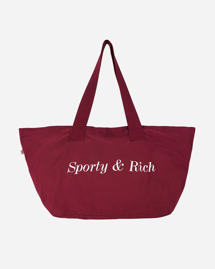 Sporty And Rich CLASSIC LOGO TOTE