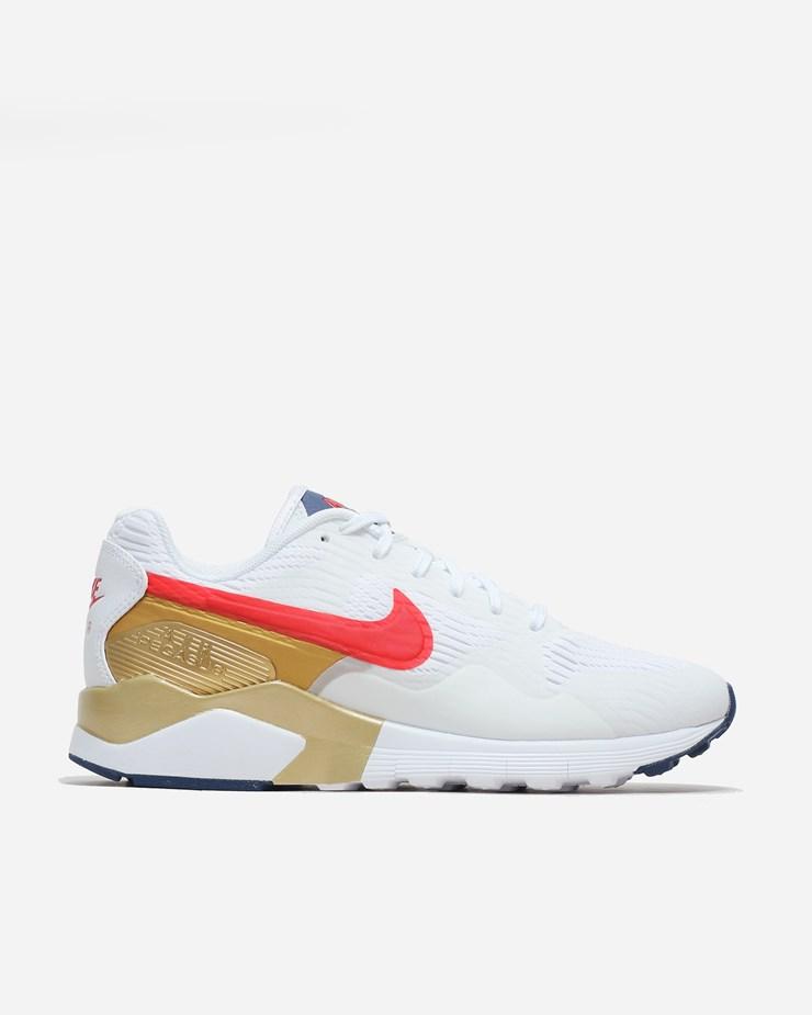 low priced 54706 4aefa Nike Sportswear Air Pegasus 92 16 White Red Metallic Gold