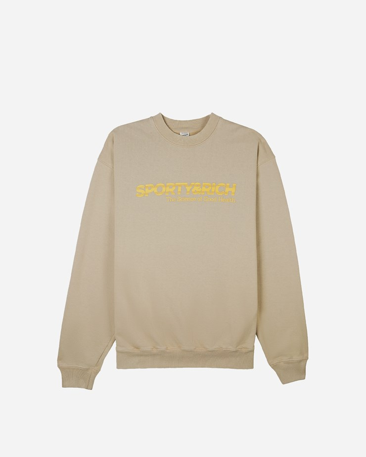 Sporty And Rich SCIENCE CREWNECK